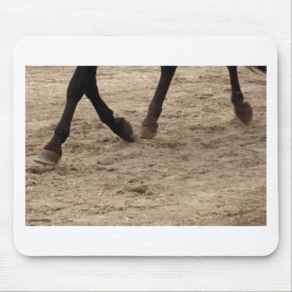 Horse hooves mouse pad