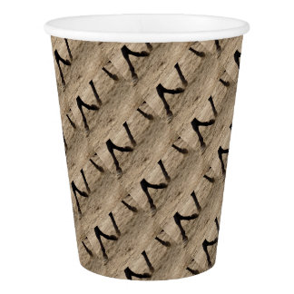 Horse hooves paper cup