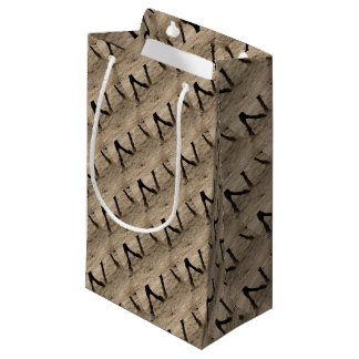 Horse hooves small gift bag