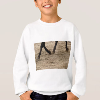 Horse hooves sweatshirt