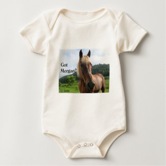 Horse Humor: Got Morgan? Baby Bodysuit