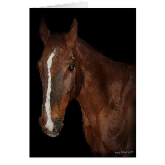 Horse I Greeting Card