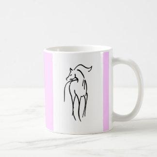 Horse Illustration Mug