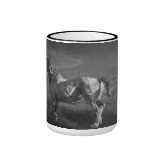 HORSE IN AFTERNOON SUN COFFEE MUGS
