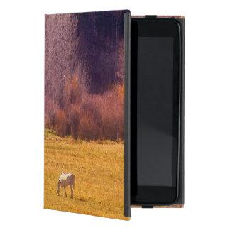 Horse In Fall I Cases For iPad Mini