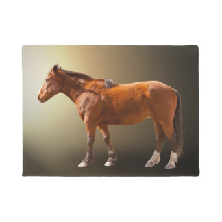 HORSE IN THE SUN DOORMAT