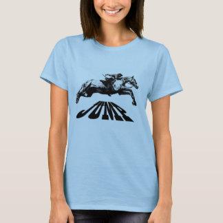 Horse Jumping Equestrian T-shirt