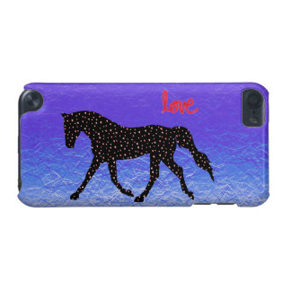 Horse, Love and Hearts iPod 5 Case