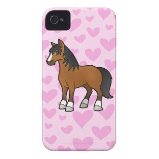 Horse Love iPhone 4 Case-Mate Case