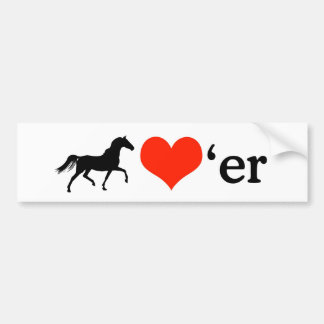 Horse Lover Bumper Sticker