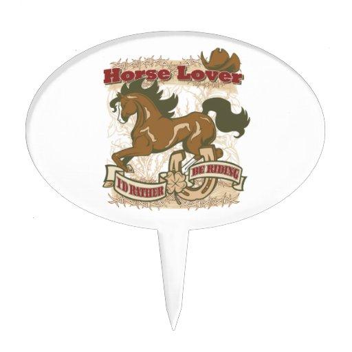 Horse Lover Cake Topper