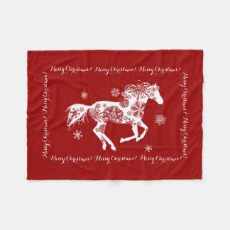 Horse Lover Fleece Blanket