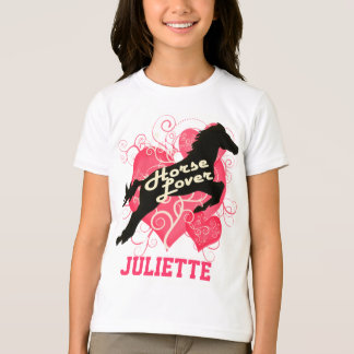 Horse Lover Personalized Juliette Tshirts