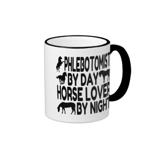 Horse Lover Phlebotomist Coffee Mug