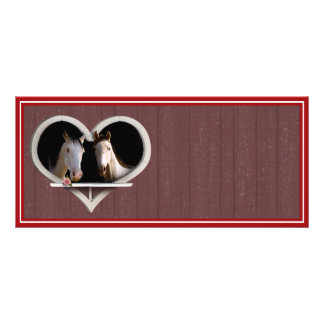 Horse Lovers (Add Your Text) Rack Card