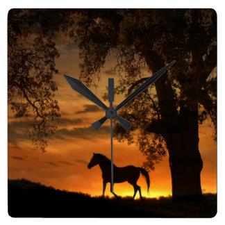 Horse Lover's Clock