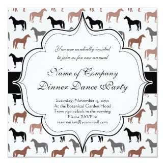Horse Lover's Pattern Card