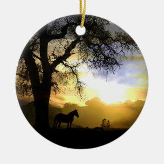 Horse Memorial Ornament