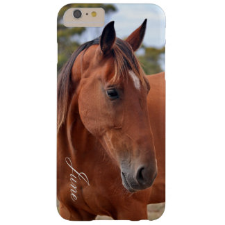 Horse Monogram Barely There iPhone 6 Plus Case