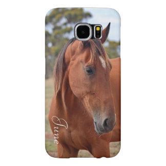Horse Monogram Samsung Galaxy S6 Cases