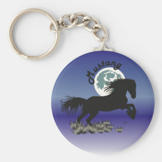 Horse - Mustang key supporter Key Ring