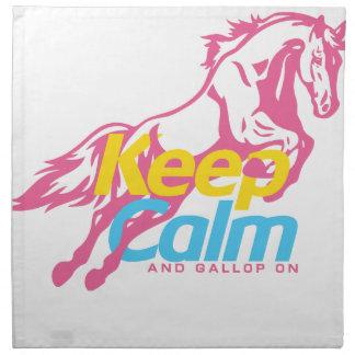 horse_ napkin