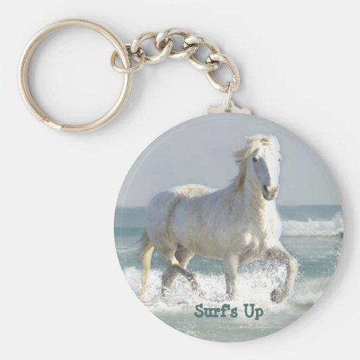 Horse Ocean Beauty  Keychain