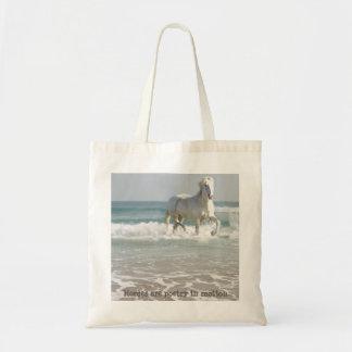 Horse Ocean Beauty Tote Bag