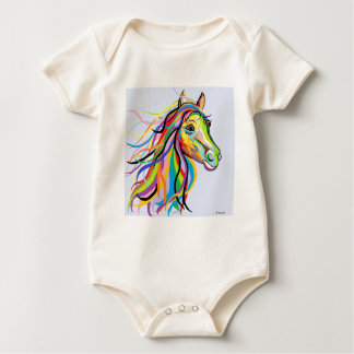 Horse of a Different Color Baby Bodysuit
