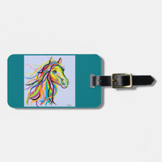 Horse of a Different Color Bag Tag