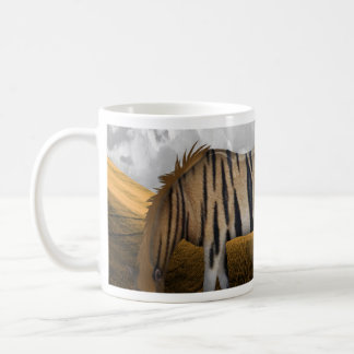 Horse of a different color basic white mug
