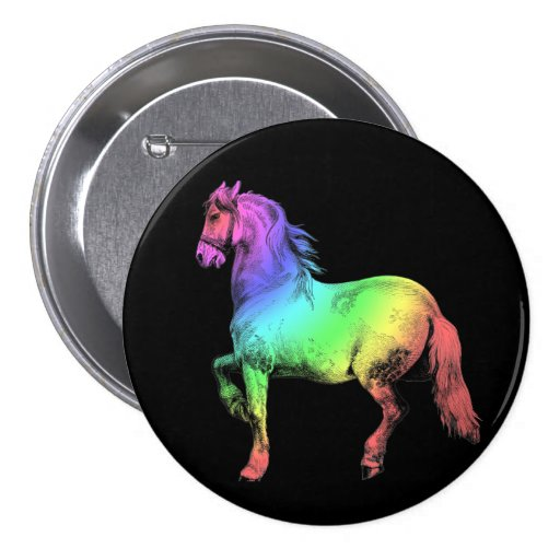 Horse of a Different Color Button