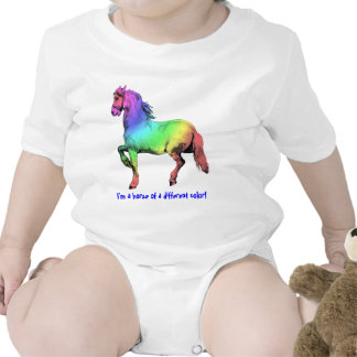 Horse of a Different Color Custom T Shirts