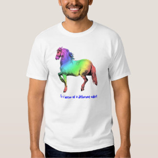 Horse of a Different Color Custom Tee