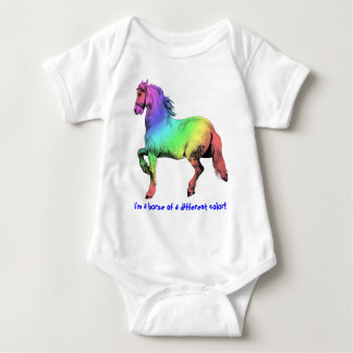 Horse of a Different Color Custom Tee Shirts