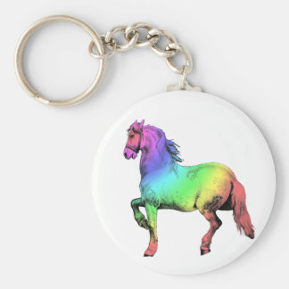 Horse of a Different Color Keychain