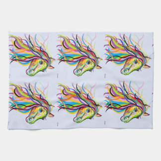 Horse of a Different Color Kitchen Towel