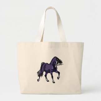 Horse of a Different Color Large Tote Bag
