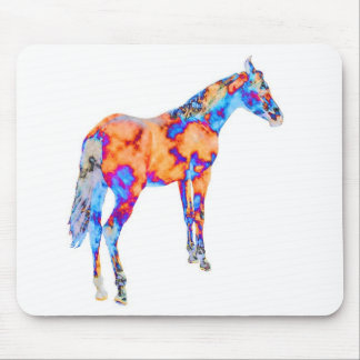 Horse of a Different Color Mouse Pads