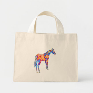 Horse of a Different Color Mini Tote Bag