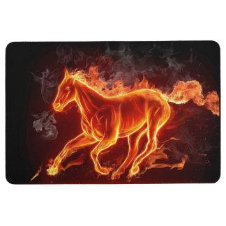 horse of fire floor mat