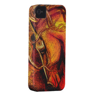 Horse of Many Colors iPhone 4 Case