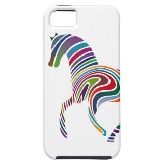 Horse of rainbow iPhone 5 case