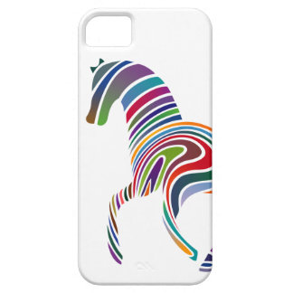 Horse of rainbow iPhone 5 covers