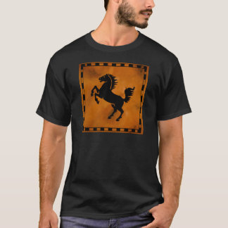 Horse on Terra Cotta T-Shirt