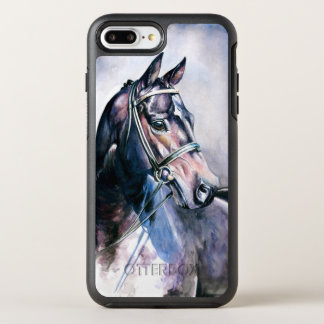 Horse Painting OtterBox Symmetry iPhone 8 Plus/7 Plus Case