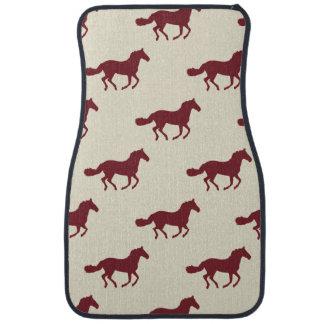 Horse Pattern Car Mat