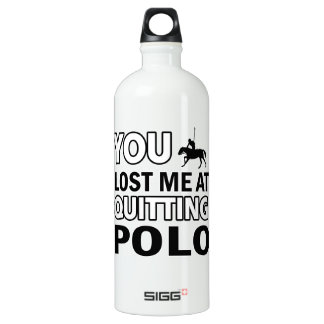 Horse Polo designs SIGG Traveller 1.0L Water Bottle
