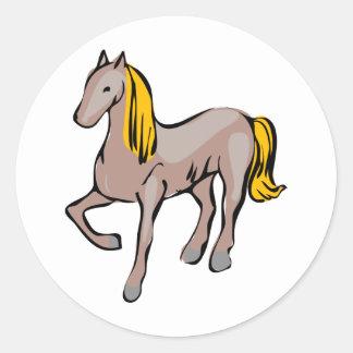 Horse/Pony Classic Round Sticker