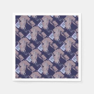 Horse Pop Art Paper Napkins